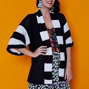 Kimono Tricot Listrado
