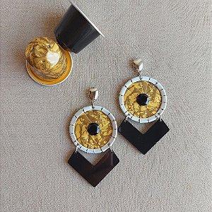 Brinco Recortes Barroco Gold