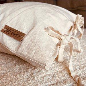 Almofada lacinho algodão