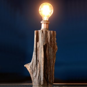Luminária Vertical Cobre
