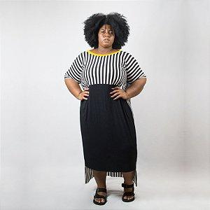 Vestido Malha Trip Plus Size