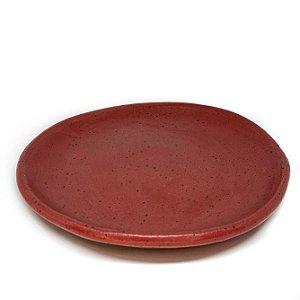 Pratos Sobremesa Avulsos - vermelho rosado