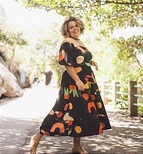 Vestido Madalena Sertão