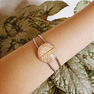 Bracelete Folha esqueletizada