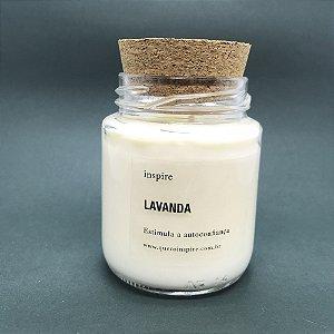 Vela perfumada de Lavanda com tampa de cortiça M