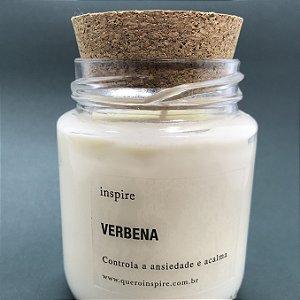 Vela perfumada Verbena com tampa de cortiça M