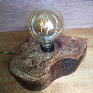 Luminária Tronco