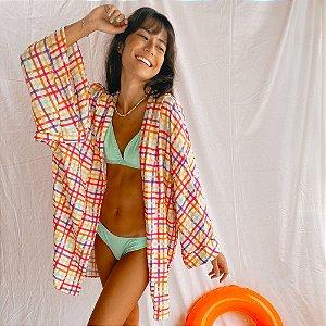 Kimono Xadrez Pool Party