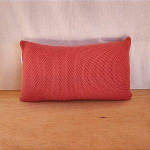 Capa de almofada em tricô | coral (50x25cm)