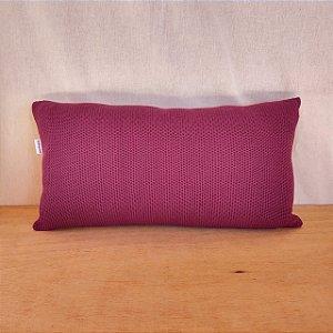 Capa de almofada em tricô | uva (50x25cm)