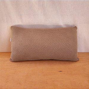 Capa de almofada em tricô | verde claro (50x25cm)