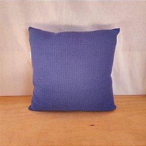 Capa de almofada em tricô | azul claro (40x40cm)