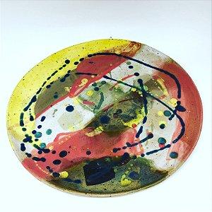Prato avulso colorido (28cm)