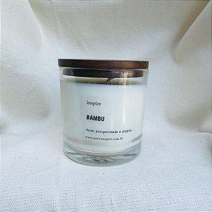 Vela perfumada - Bambu