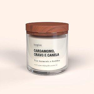 Vela perfumada - Cardamomo, cravo e canela