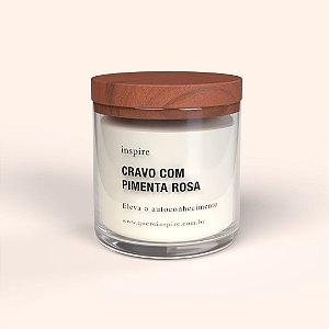Vela perfumada - Cravo e Pimenta Rosa
