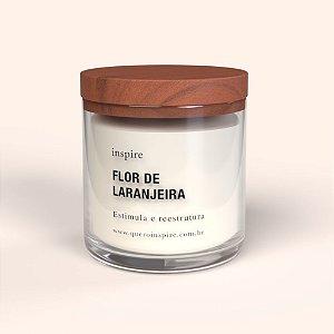 Vela perfumada - Flor de Laranjeira