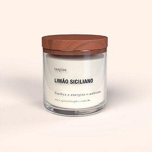 Vela perfumada - Limão siciliano