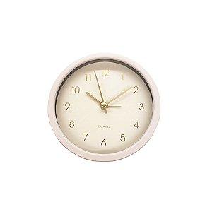 Relógio de Mesa Quartz Rosé
