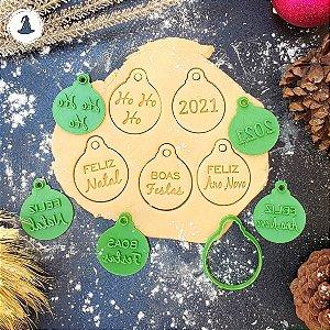 Bolinhas P/ Enfeitar Árvore de Natal