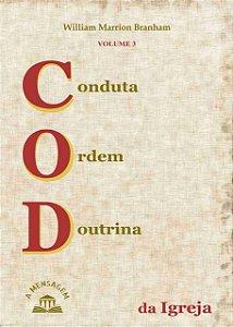 Livro Vol 3 Conduta, Ordem, Doutrina da Igreja por William Marrion Branham