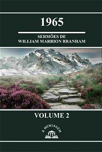 Livro Vol 2 - Série 1965 Sermões de William Marrion Branham