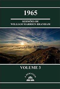 Livro Vol 3 - Série 1965 Sermões de William Marrion Branham
