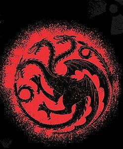 Camisa T-shirt Game Of Thrones - Targuerian Dragões