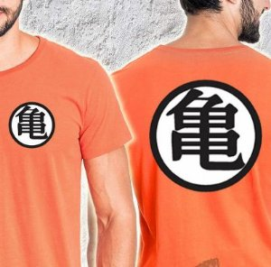 Camisa T-shirt Dragon Ball Z Farda Goku
