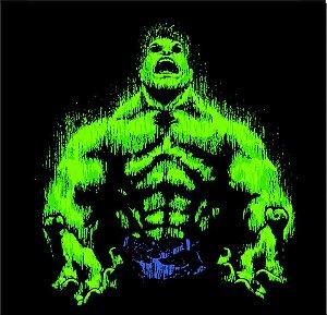 Camisa T-shirt Hulk