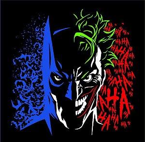 Camisa T-shirt Batman e Coringa