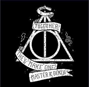 Camisa T-shirt Harry Potter - Relíquias da Morte
