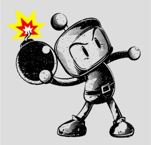 Camisa T-shirt Bomberman