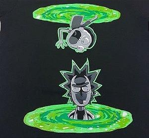 Camisa Camiseta T-shirt Rick e Morty