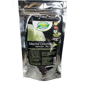 Matcha Gourmet (100% Puro e Orgânico) - Pack Metalizado 30g