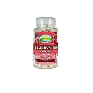 Belly Burner Cranberry Fórmula SB - Pote 180 pastilhas 800mg