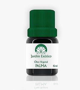 Óleo Vegetal de Palma Prensado Frio - Extra Virgem Jardim Exótico 15ml