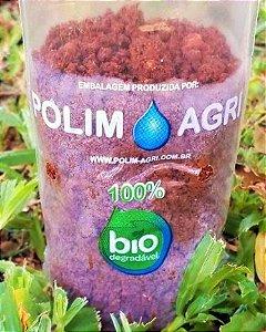 Saco Para Mudas Biodegradável - Tamanho 10 x 20 x 06 - kit c/10 saquinhos