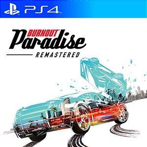 Burnout Paradise Remastered - PS4 PSN Mídia Digital