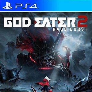 GOD EATER 2: Rage Burst - PS4 PSN Mídia Digital