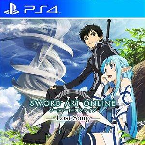 Sword Art Online: Lost Song - PS4 PSN Mídia Digital