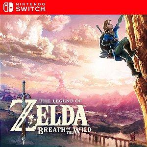The Legend of Zelda: Breath of the Wild - Nintendo Switch Mídia Digital