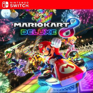 Mario Kart 8 Deluxe - Nintendo Switch Mídia Digital