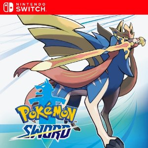 Pokémon Sword - Nintendo Switch Mídia Digital