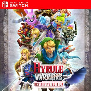 Hyrule Warriors: Definitive Edition - Nintendo Switch Mídia Digital