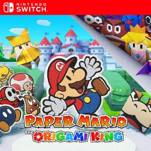 Paper Mario: The Origami King - Nintendo Switch Mídia Digital
