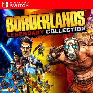 Borderlands Legendary Collection - Nintendo Switch Mídia Digital