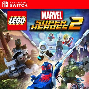 Lego Marvel Super Heroes 2 - Nintendo Switch Mídia Digital