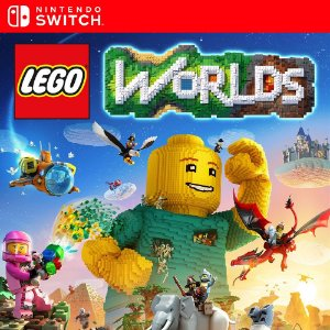 Lego Worlds - Nintendo Switch Mídia Digital
