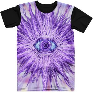 Stompy Camiseta Psicodelica Rave Trippy 01